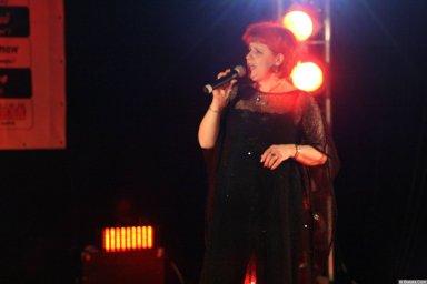 Ляля Рублёва 13 декабря 2008 года на фестивале Хорошая песня 7
