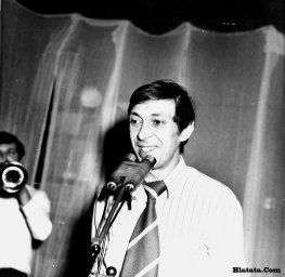 Аркадий Северный на записи концерта Проводы 1977 года 8