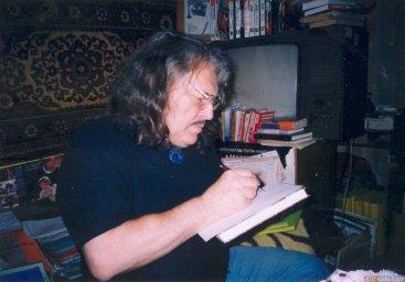 Александр Лобановский у себя дома