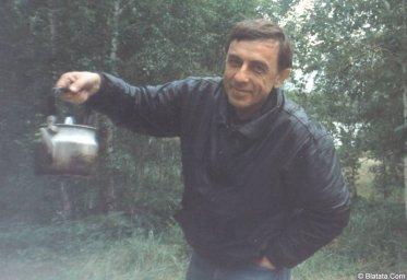 Вадим Медин (Валерий Викторович Литвиненко) за городом 1994 год