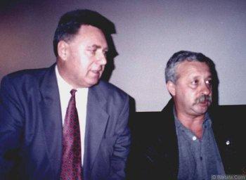 Генрих Сечкин с Леонидом Якубовичем
