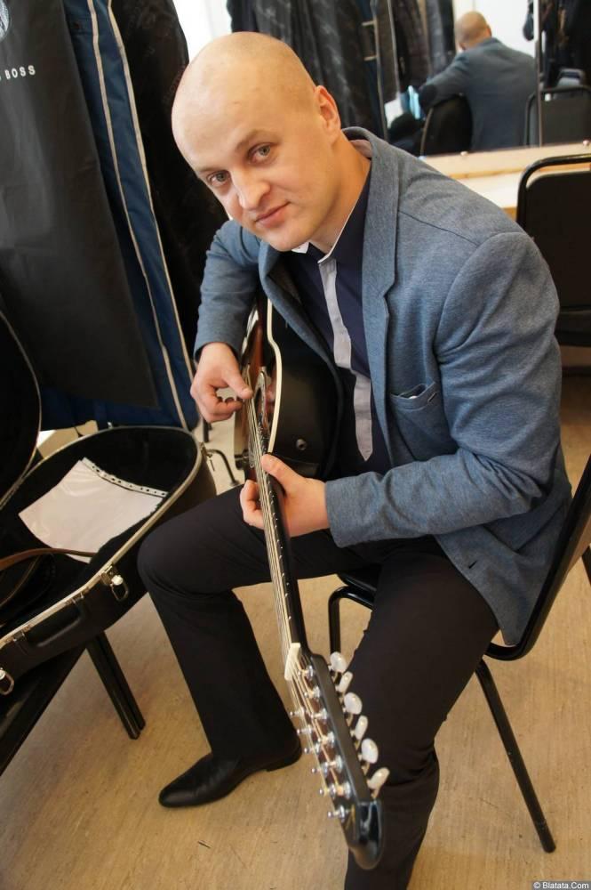 Анатолий Топыркин на XX-м фестивале памяти Аркадия Северного 12 апреля 2015 г.