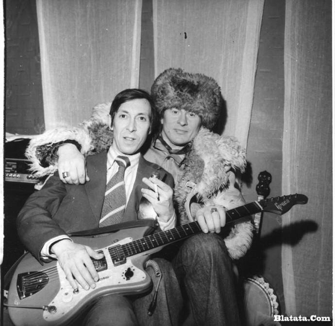 Аркадий Северный на записи концерта Проводы 1977 года 27