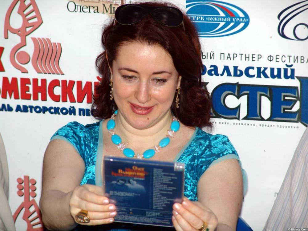 Тамара Гвердцители  на ХХХ-м Ильменском фестивале 6