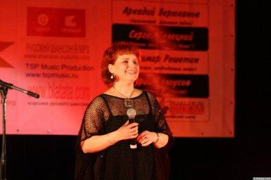Ляля Рублёва 13 декабря 2008 года на фестивале Хорошая песня 1