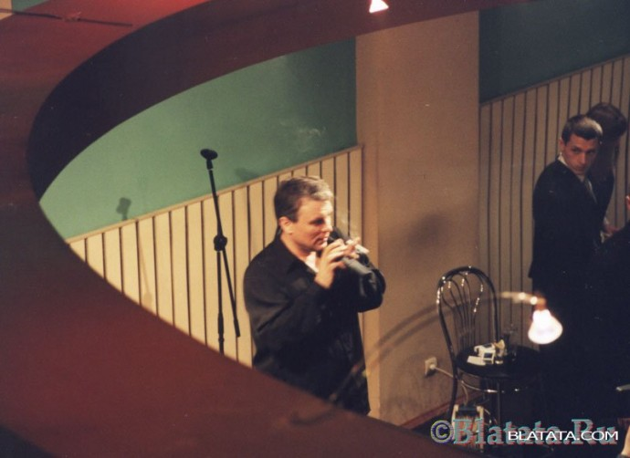 Александр Дюмин на сцене казино