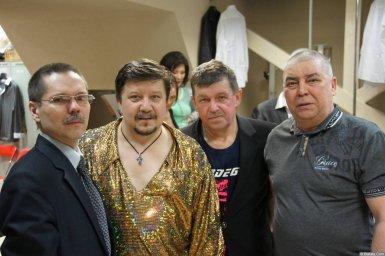 Владимир Стольный за кулисами XIX фестиваля памяти Аркадия Северного 2