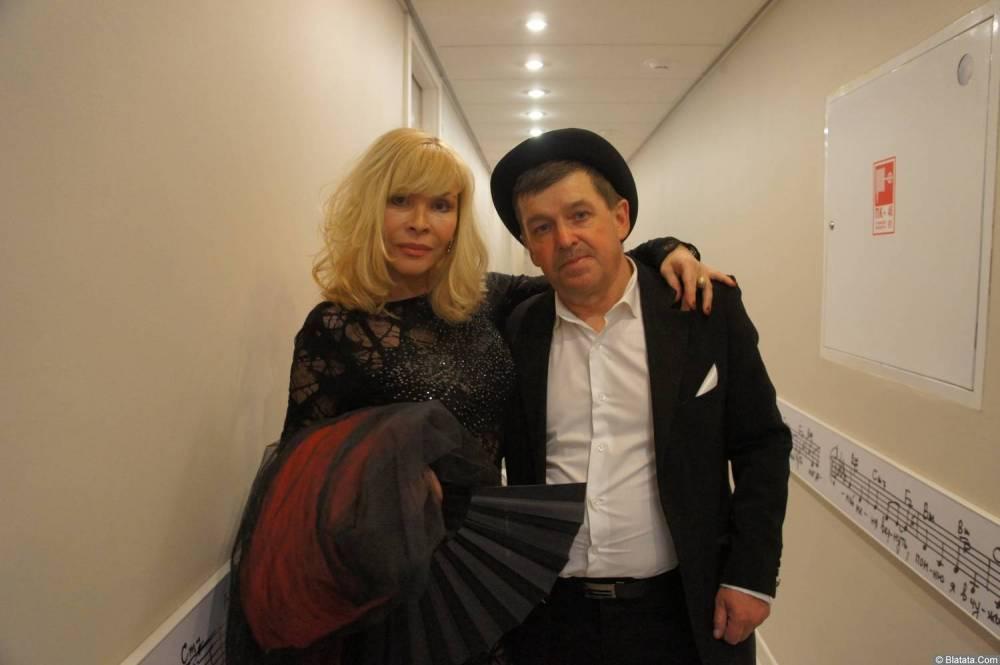 Таня Тишинская и Евгений Любимцев на XX-м фестивале памяти Аркадия Северного