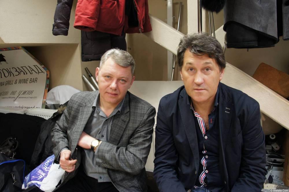 Владимир Черняков за кулисами на концерте Новое и лучшее 17 февраля 2015 года