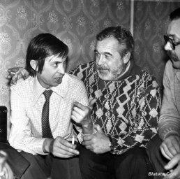 """Аркадий Северный на записи альбома с ансамблем """"Трезвость"""" в 1980 году 6"""