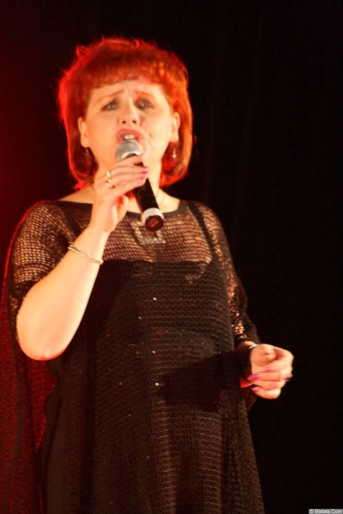 Ляля Рублёва 13 декабря 2008 года на фестивале Хорошая песня 4
