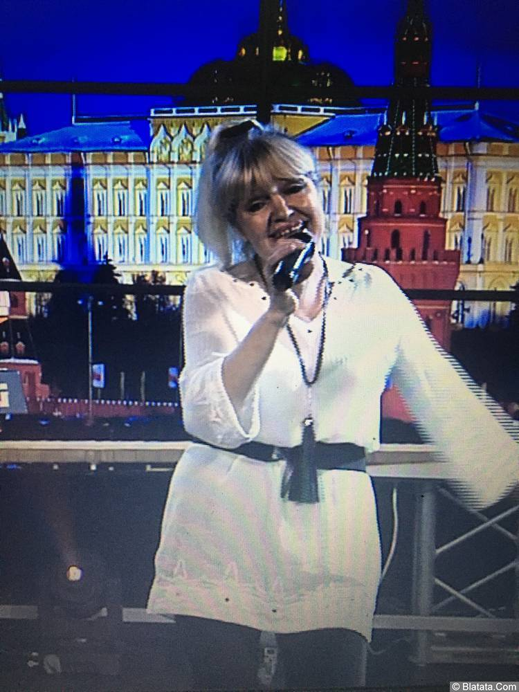 Елена Горбачева. Выступление на фестивале «Радио Столица» в Москве.