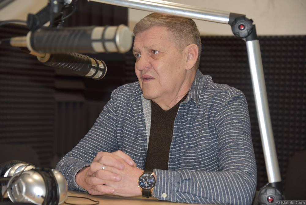 Валерий Волошин (Пятилетка) в студии в Калининграде