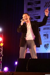 Виталий Волин 13-14 декабря 2008 года на фестивале Хорошая песня 2