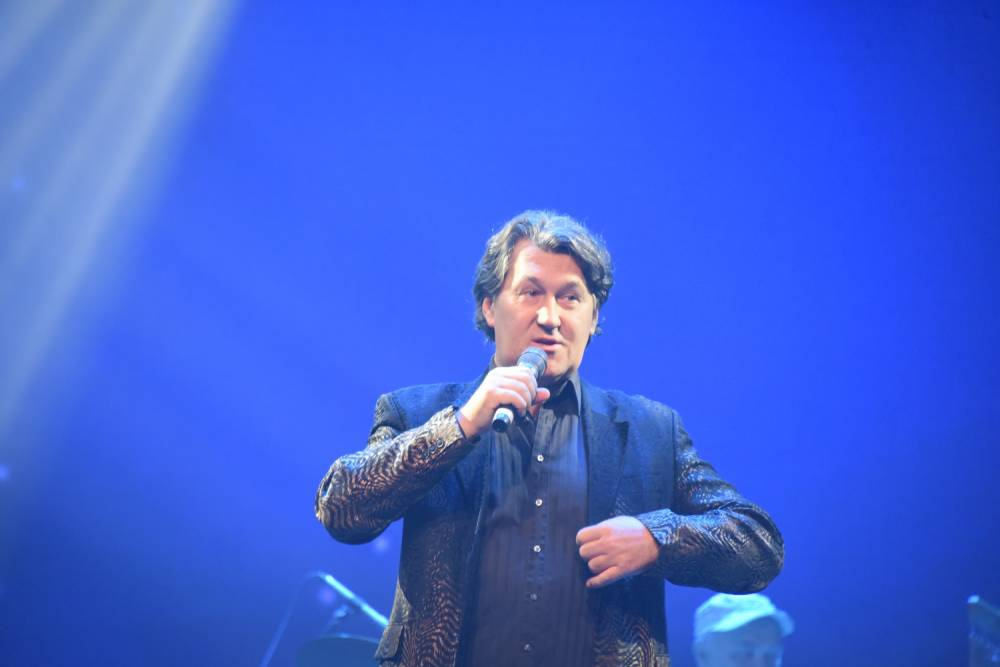 Владимир Черняков на фестивале памяти Аркадия Северного 2018 на сцене