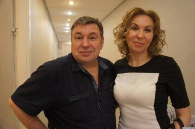Михаил Шелег и Наталья Звездина на XX-м фестивале памяти Аркадия Северного