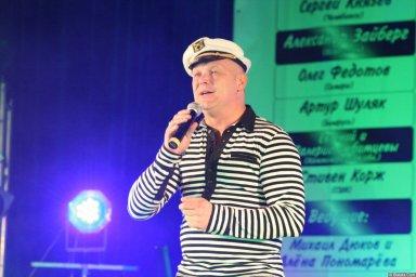 Саша Адмирал 13-14 декабря 2008 года на фестивале Хорошая песня 10