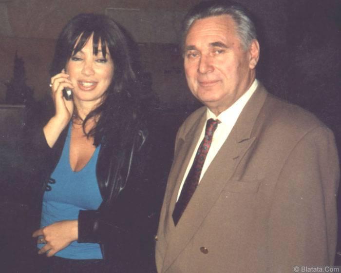 Генрих Сечкин с Аллой Дарьяловой