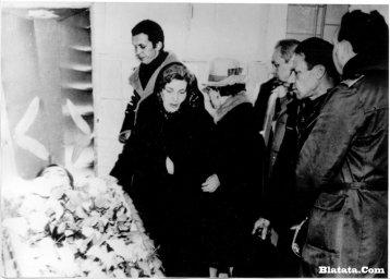 Прощание с Аркадием Северным в зале крематория у гроба