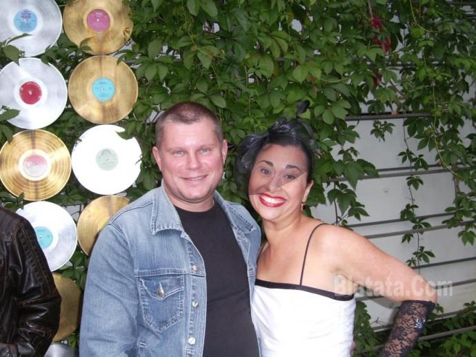 Михаил Дюков и Кира Кафт
