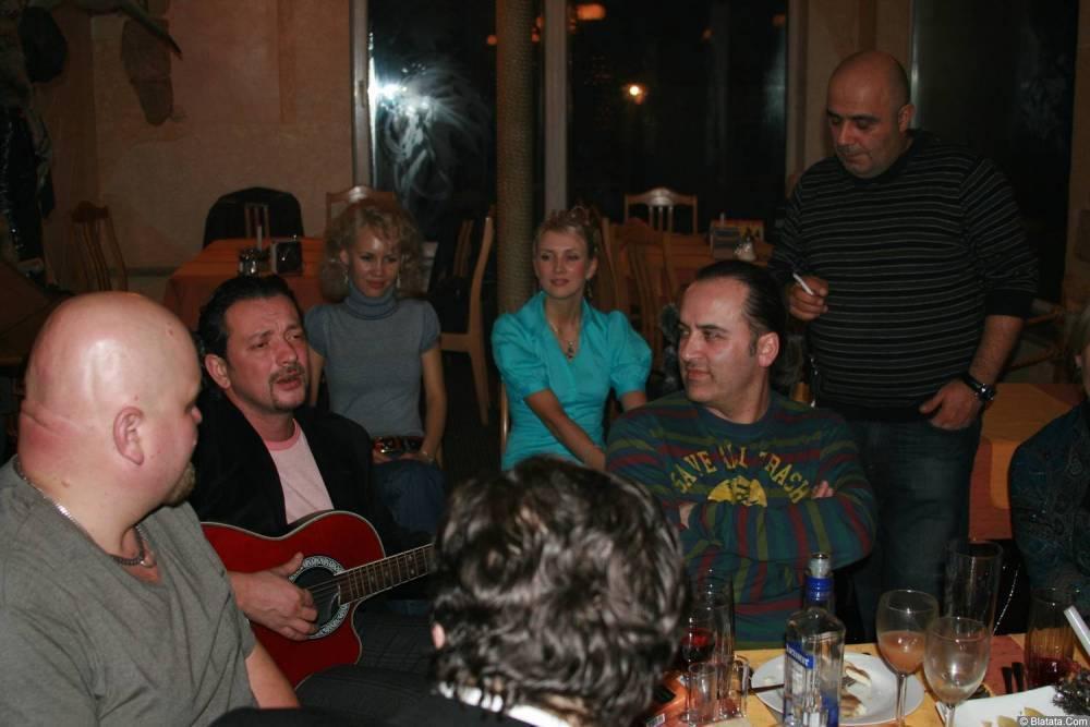 Виталий Волин 13-14 декабря 2008 года на фестивале Хорошая песня 11