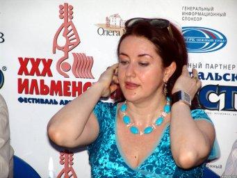 Тамара Гвердцители  на ХХХ-м Ильменском фестивале 2