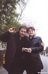 Леонид Азбель с Катенькой Дроздовской