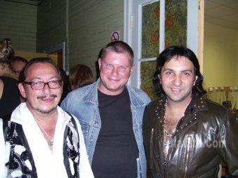 Алексей Дулькевич, Александр Марцинкевич и Михаил Дюков