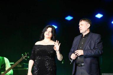 Наташа Державная и Николай Котрин на втором фестивале шансона имени Александра Фрумина