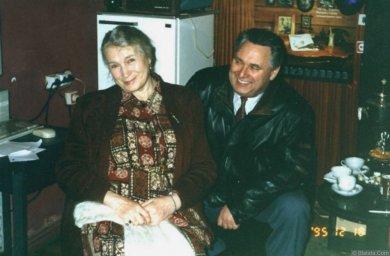 Генрих Сечкин с Любовью Соколовой