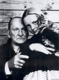 Александр Вертинский с дочуркой