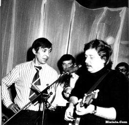 Аркадий Северный на записи концерта Проводы 1977 года 16
