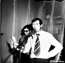 Аркадий Северный на записи концерта Проводы 1977 года 22