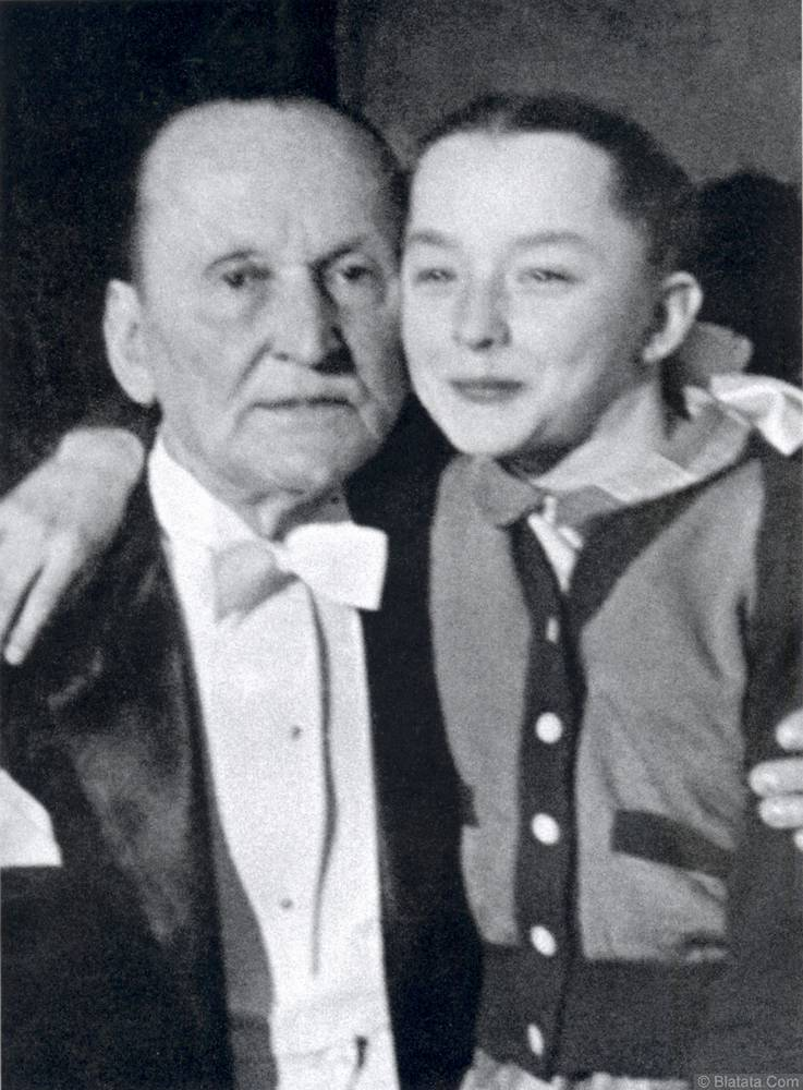 Александр Вертинский с дочерью