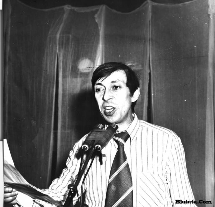 Аркадий Северный на записи концерта Проводы 1977 года 12