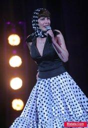 Татьяна Кабанова на сцене фестиваля шансона 13