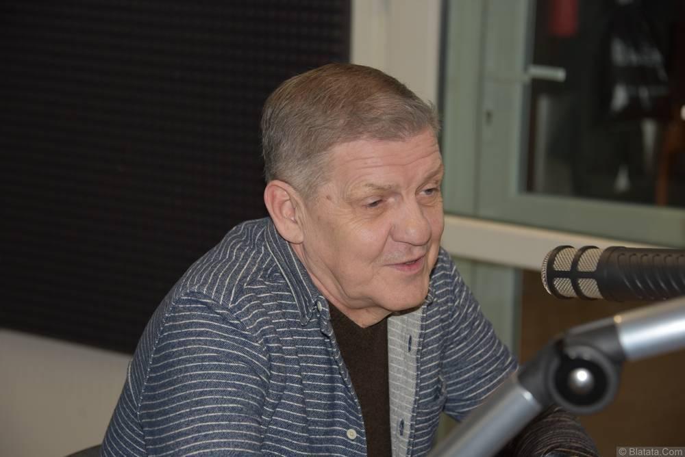 Валерий Волошин, группа Пятилетка в Калининграде в студии