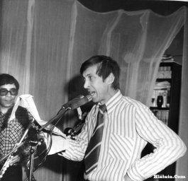Аркадий Северный на записи концерта Проводы 1977 года 25