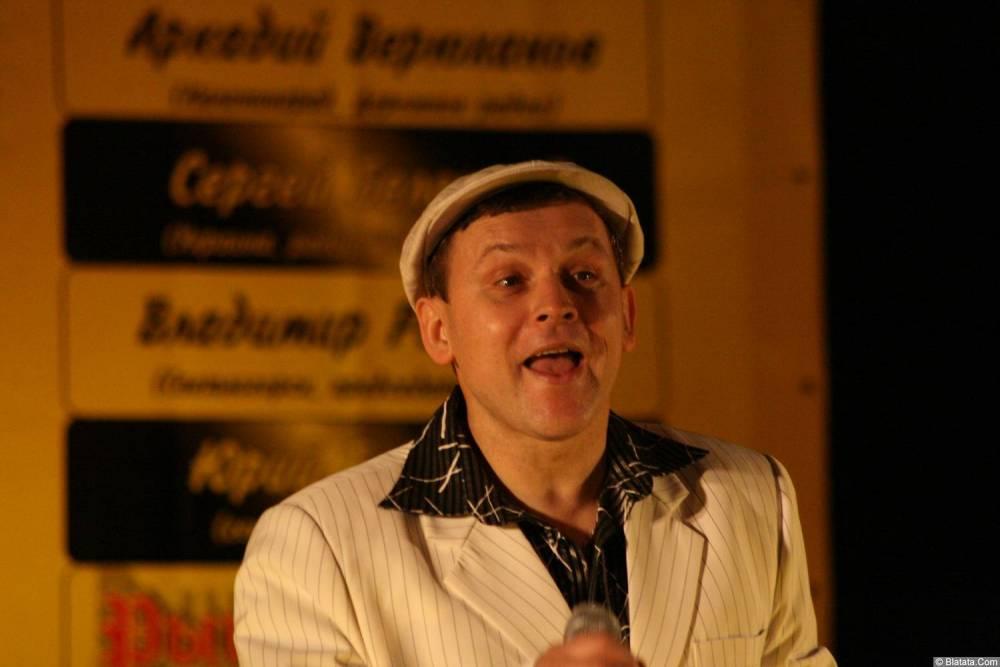 Юрий Белоусов 13 декабря 2008 года на фестивале Хорошая песня 6