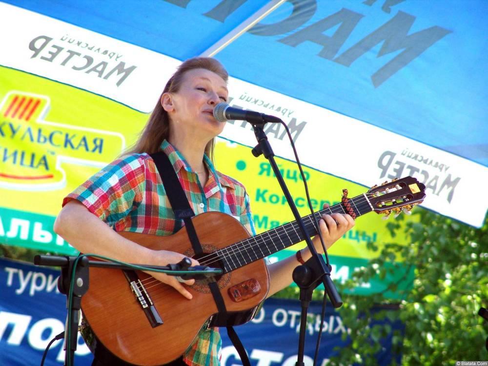 Галина Хомчик на Ильменском фестивале
