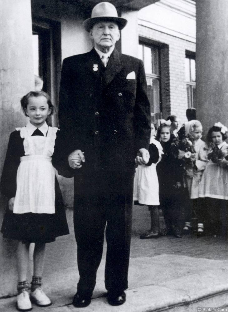 Александр Вертинский с дочкой