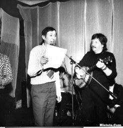 Аркадий Северный на записи концерта Проводы 1977 года 19