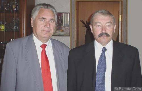 Генрих Сечкин и генерал-вдв-шпак