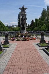 Главная аллея мемориала