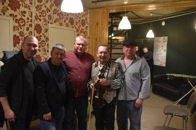Алексей Дулькевич на фестивале памяти Аркадия Северного 2019 с группой участников