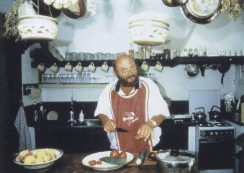 Ivan Rebroff готовит обед