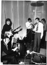 Аркадий Северный на записи концерта Проводы 1977 года 1