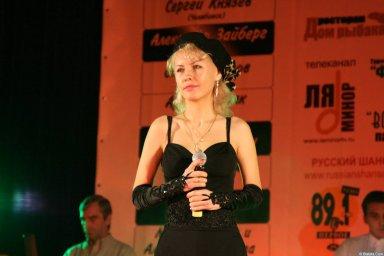 Юлия Андреева 13-14 декабря 2008 года на фестивале Хорошая песня 14