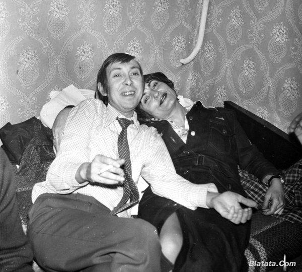 """Аркадий Северный на записи альбома с ансамблем """"Трезвость"""" в 1980 году 8"""