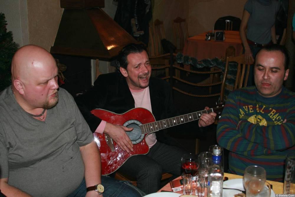 Виталий Волин 13-14 декабря 2008 года на фестивале Хорошая песня 10